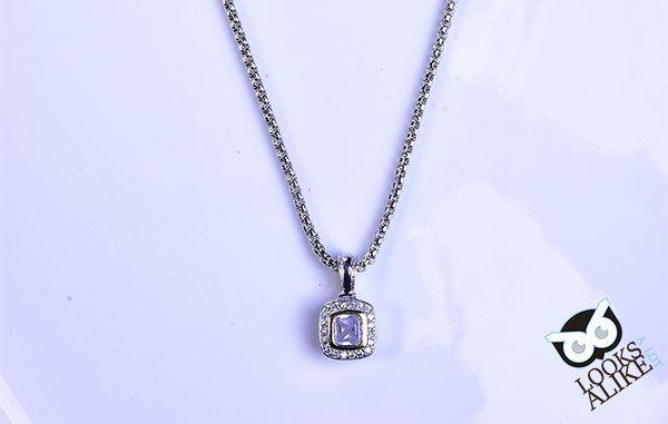 Petite square pendant necklace looks a lot alike cable jewelry petite square pendant necklace aloadofball Choice Image