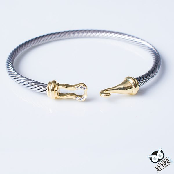 Golden Hook Bangle