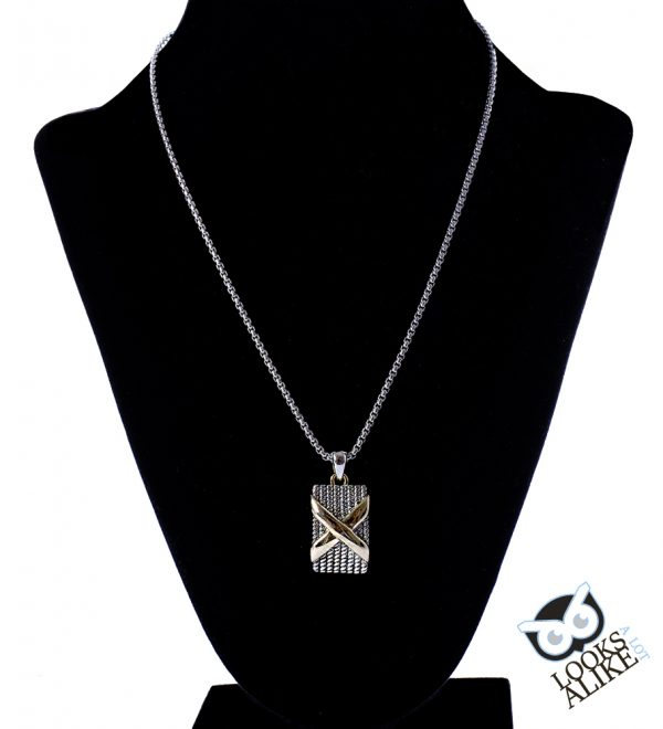 two tone necklace