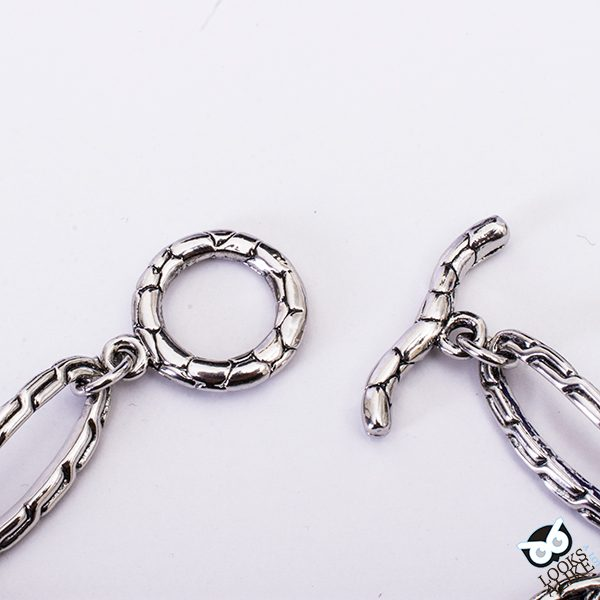 Kali Crystal Link Toggle Bracelet