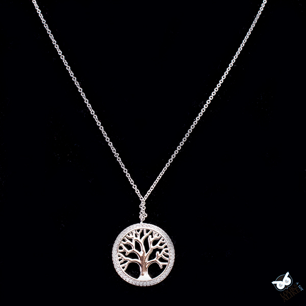 designer inspired tree necklace