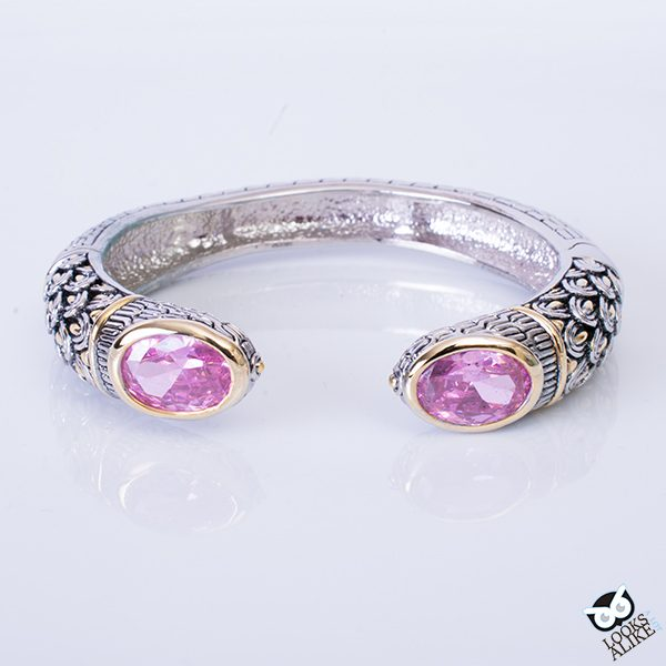 Decorative Pink Candy Bangle
