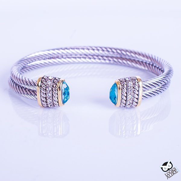David Yurman Inspired Bracelet