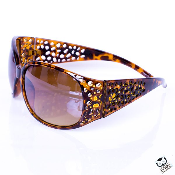 Tortoise Shell Pebble Sunglasses