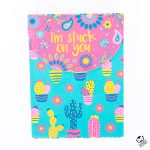 """I'm Stuck On You"" Note Pad"