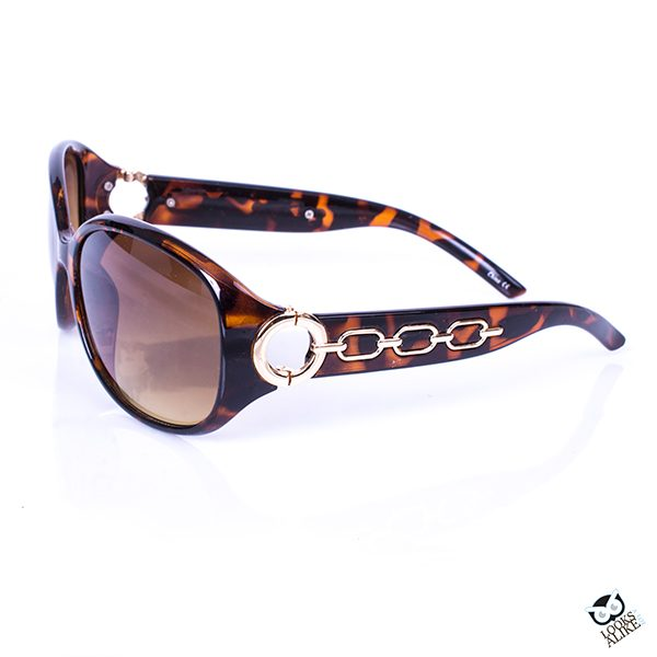 Brown fashion sunglasses