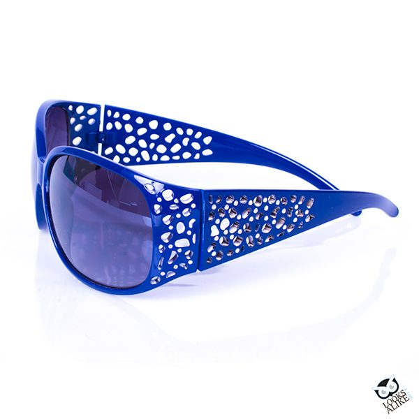 blue fashion sunglasses