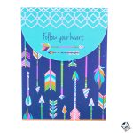 """Follow Your Heart"" Notepad"