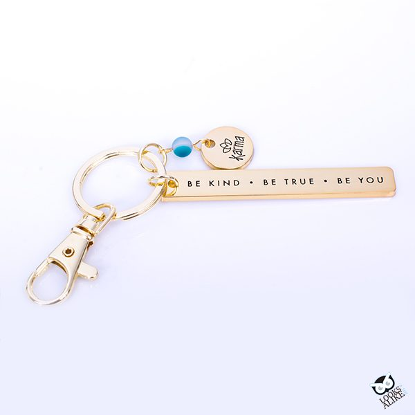 "Sentiment Keychain ""Be Kind"""
