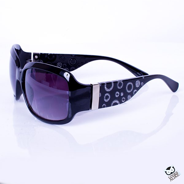 Black Confetti Sunglasses
