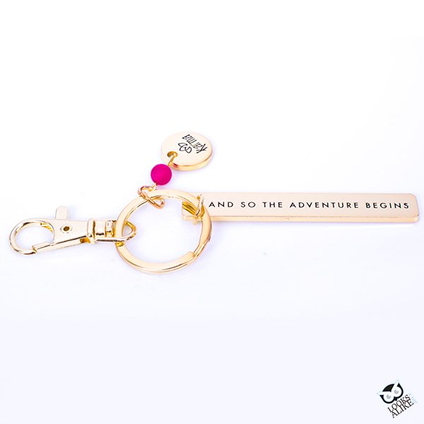 "Sentiment Keychain ""Adventure"""