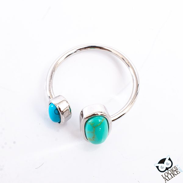 Adjustable Stone Ring