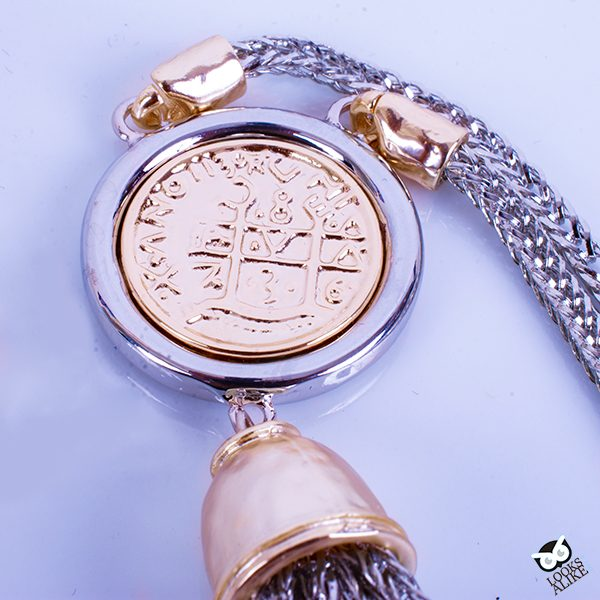 Tassel Coin Necklace