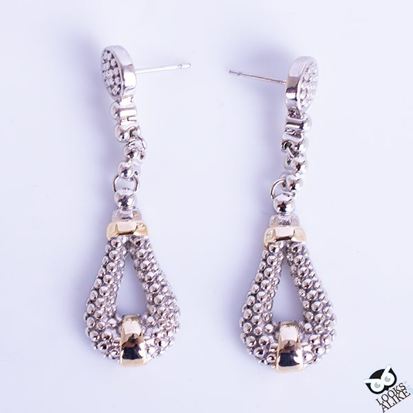 Beaded Drop Earrings - Designer Inspired