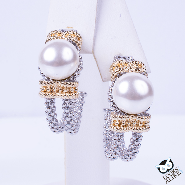 royal pearl earrings