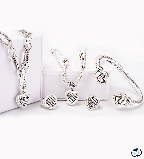 heart valentine jewelry