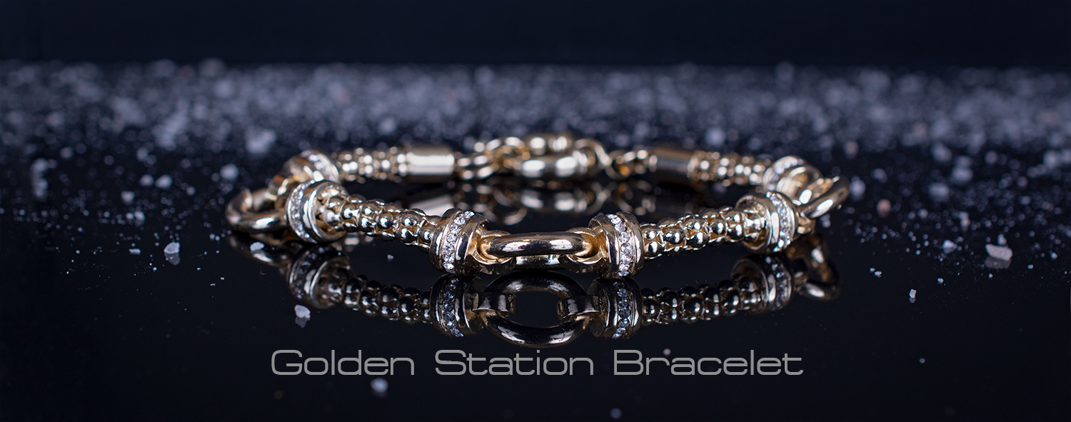 golden station bracelet
